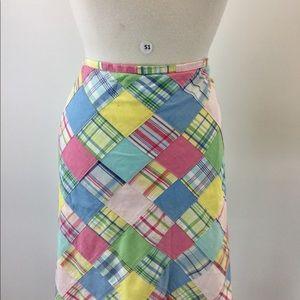 Brooks Brothers Multi Skirt (B-51)